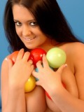 Brooke loves to get naked and play with lots of balls
